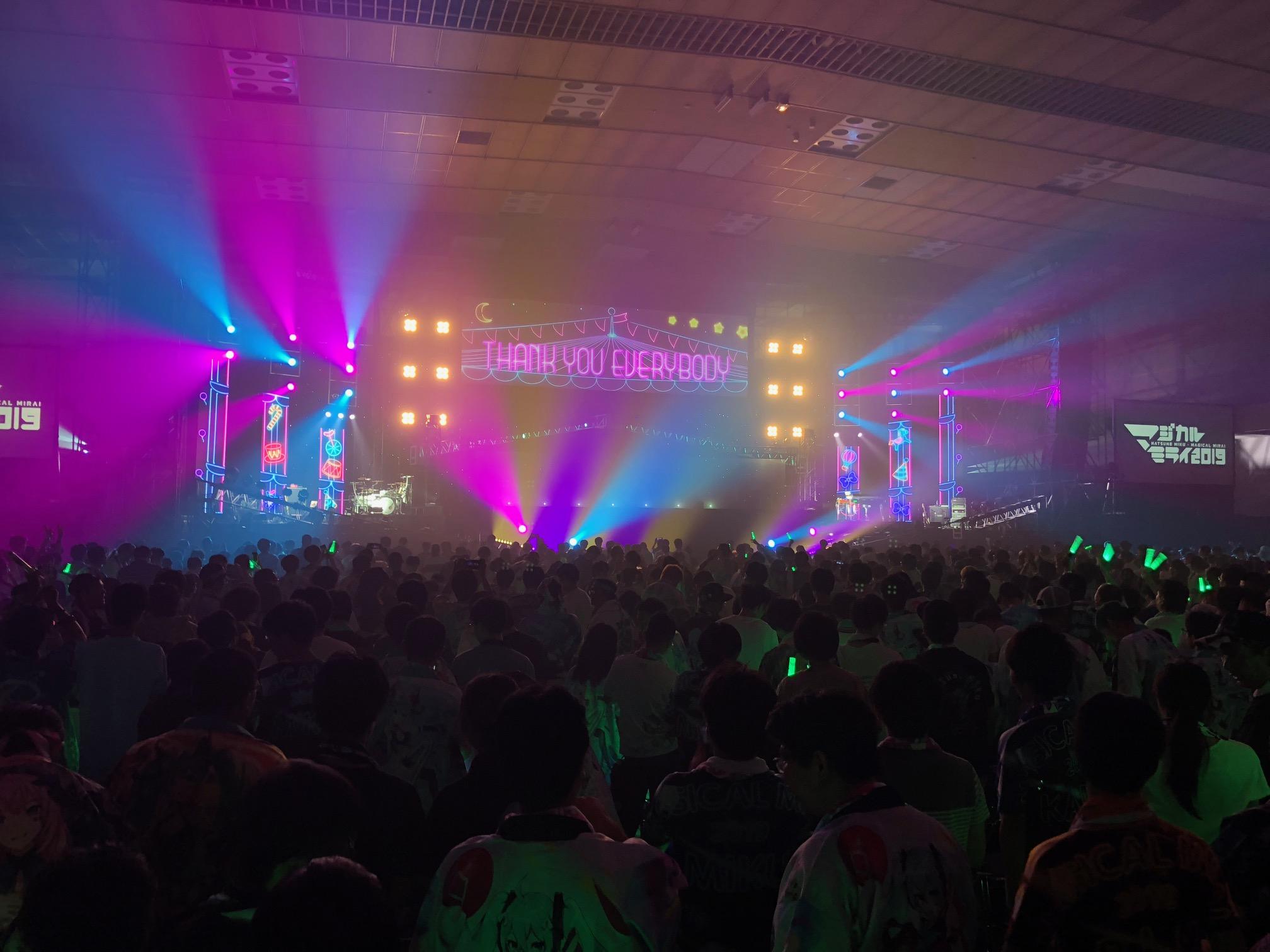 【ネタバレあり】マジカルミライ2019!気になるセトリを紹介!(大阪公演初日)