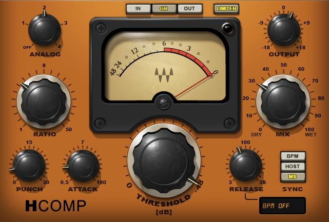 【WAVES GOLD】収録コンプ一覧!各コンプレッサーの使い方・特徴を紹介!初心者にも分かりやすい比較用音源付!